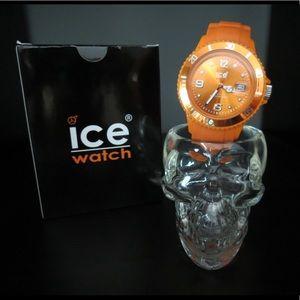 Orange Ice Watch